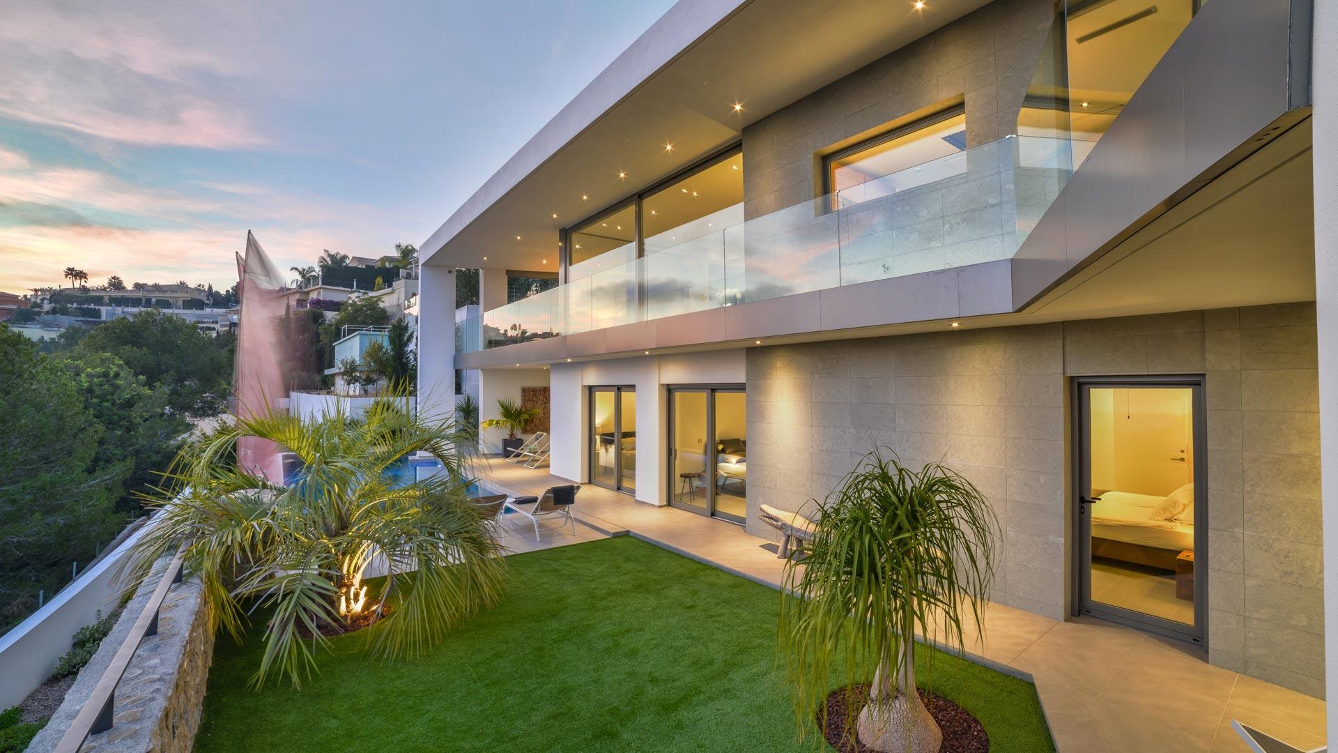 Design Villa Moraira Costa Blanca te huur for rent