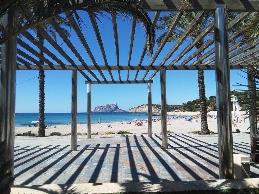 Moraira Playa d' Ampolla