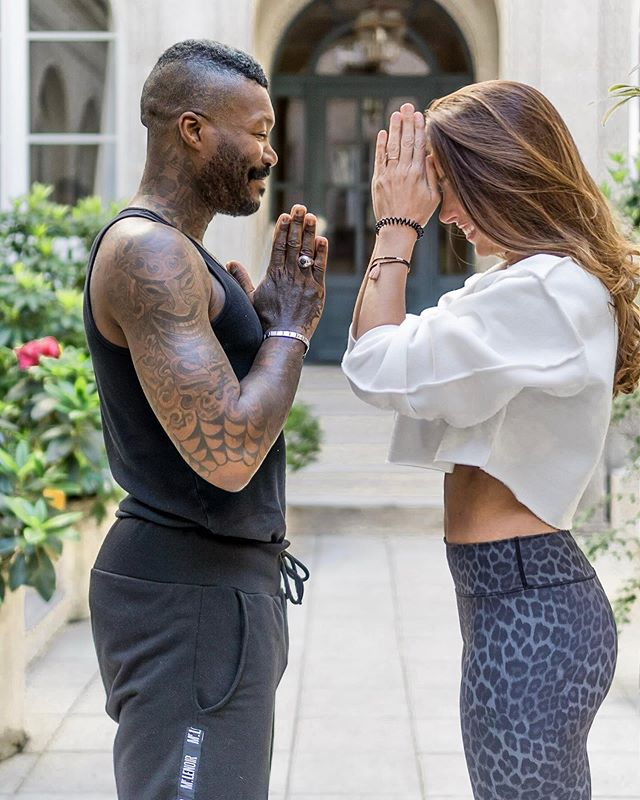 Not bad for a first class @djibrilcisse1981 💪🏽 Even sport legends are adding yoga into the mix. (See stories for more...) ✔️ Focus, mental stamina, ability to handle stress and emotions - all the contemplative practices we encounter in yoga- transfer to the football field, and beyond 🙏🏼