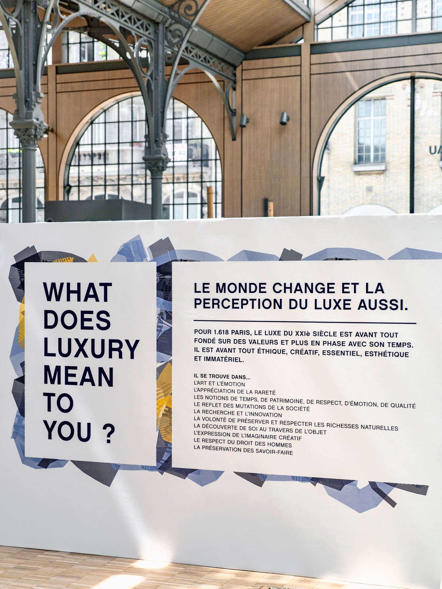 SUSTAINABLE LUXURY FAIR - CARREAU DU TEMPLE - 1618