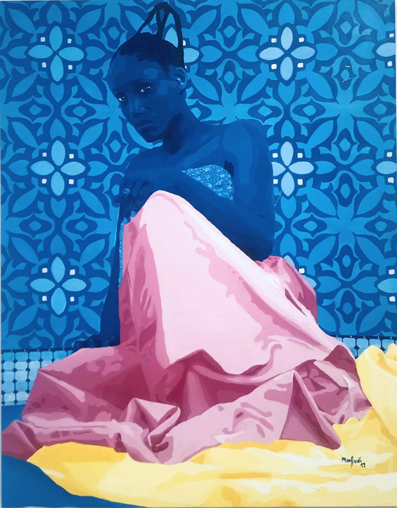 ODODO 2019 - Acrylique sur toile -  140 x 110