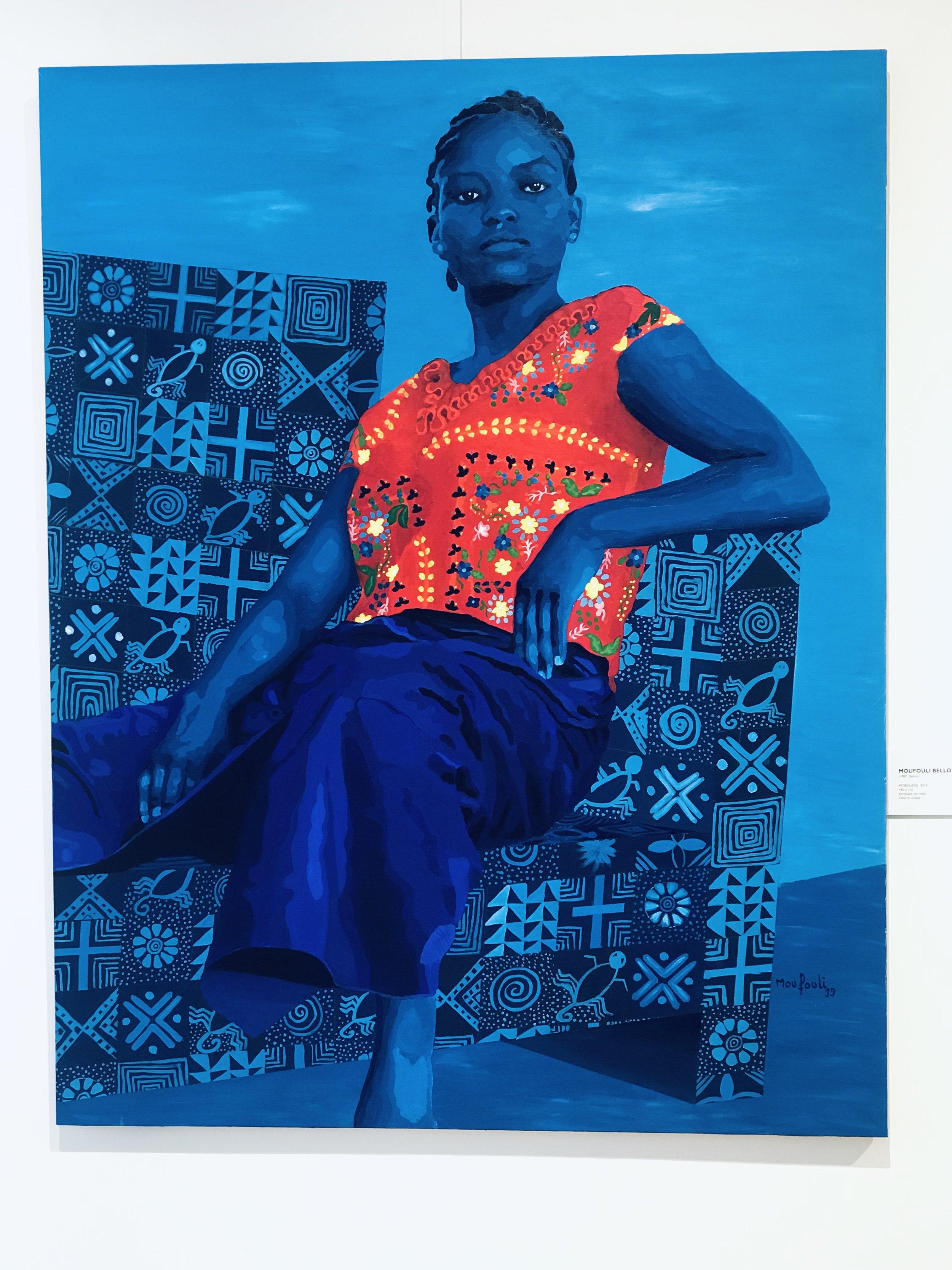 MOBOLADJI 2019 - Acrylique sur toile -  140 x 110