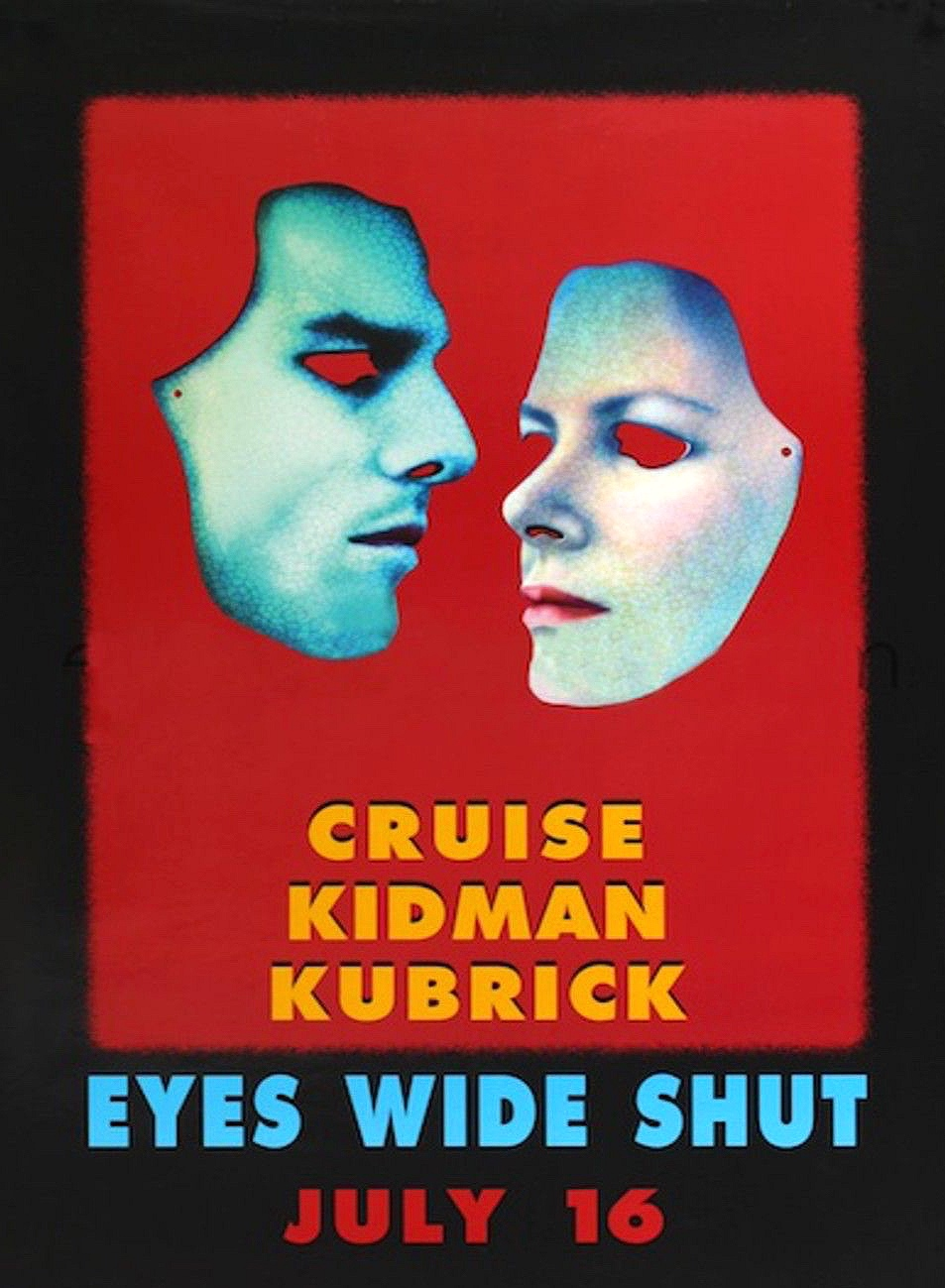 Eyes Wide Shut  promotional poster (1999)