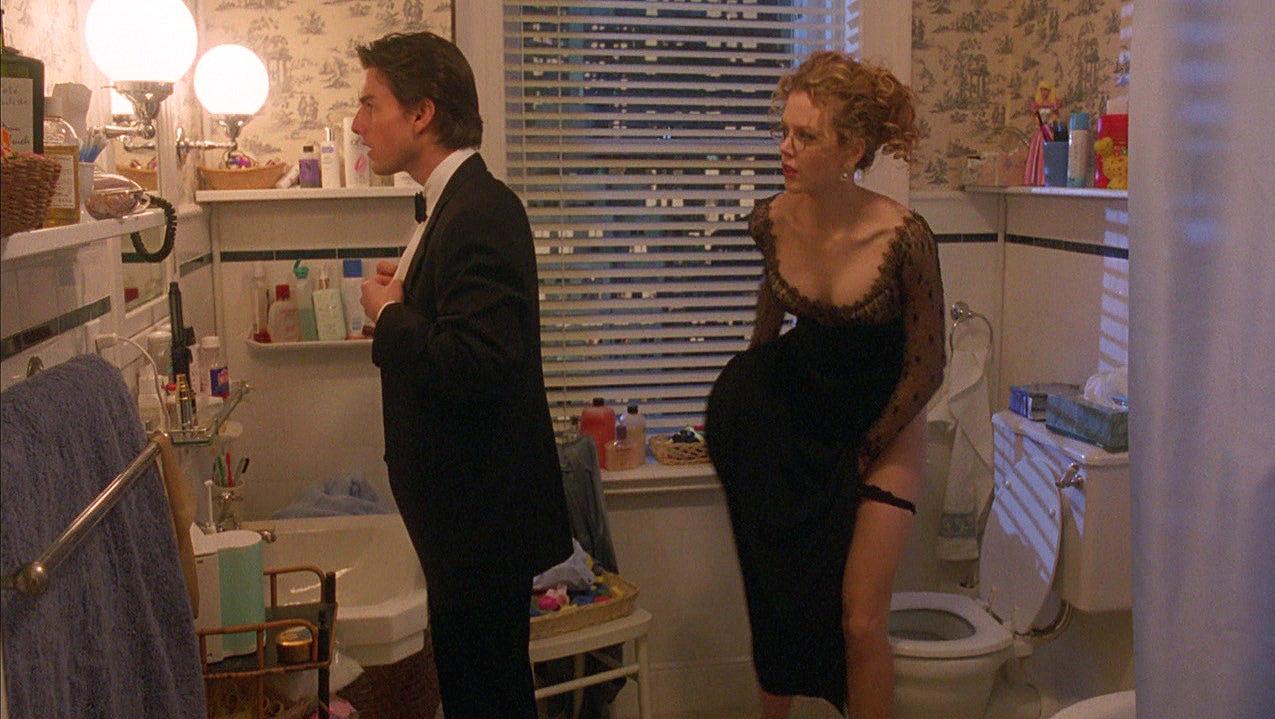 "Tom Cruise as ""Dr. Bill Harford"" & Nicole Kidman as ""Alice Harford"" in  Eyes Wide Shut  (1999)"
