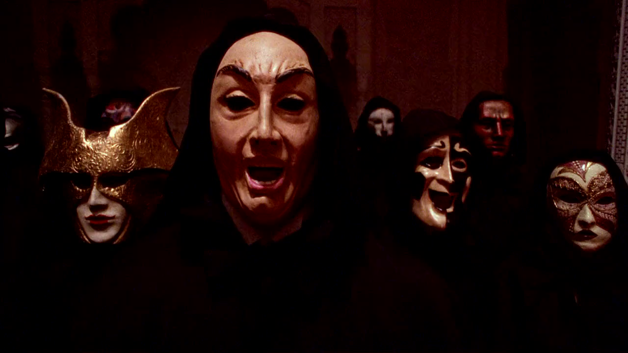 Masks used in  Eyes Wide Shut  are of traditional Venetian design (1999)