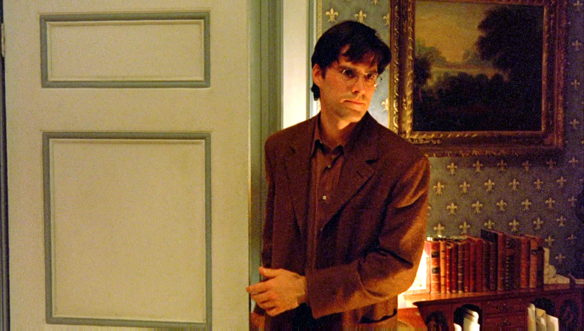 """Thomas Gibson as """"Carl Thomas""""—a doppelgänger of sorts to Tom Cruise's   character in  Eyes Wide Shut  (1999)"""