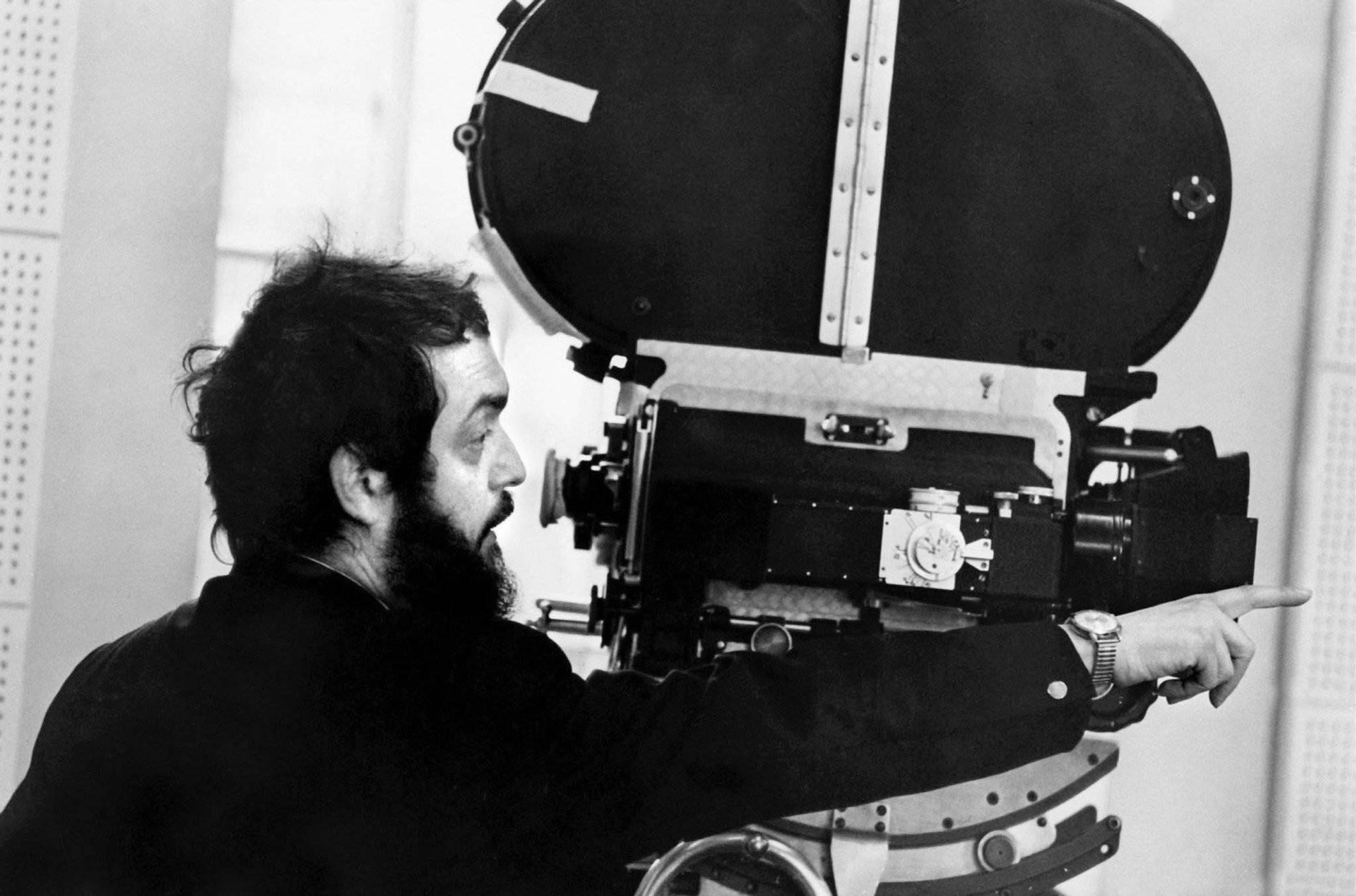 Stanley Kubrick, the film director in action  - Image via    scrapsfromtheloft.com