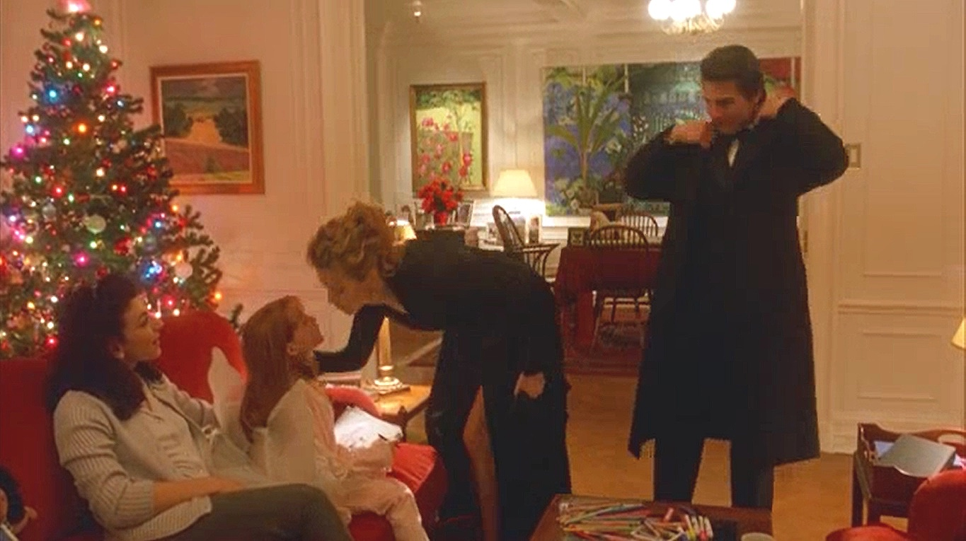 The first time we see Helena Harford (Madison Egington) she's wearing a fairy wing costume—fairy tales are referenced extensively in  Eyes Wide Shut  (1999)