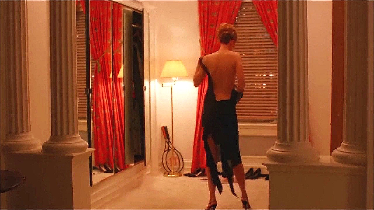 The opening shot of  Eyes Wide Shut  contains elements that feature prominently throughout the movie: Masonic symbols (the pillars and triangular curtain shape), mirrors, windows, lights, and women (1999)