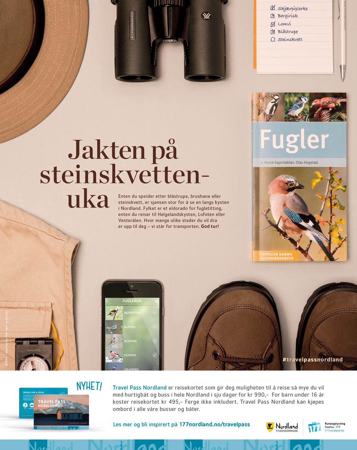 Kampanje for Nordland Fylkeskommune
