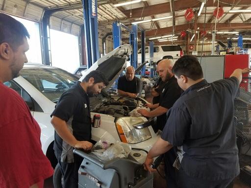 Brake fluid service at demontron Chevy .jpg