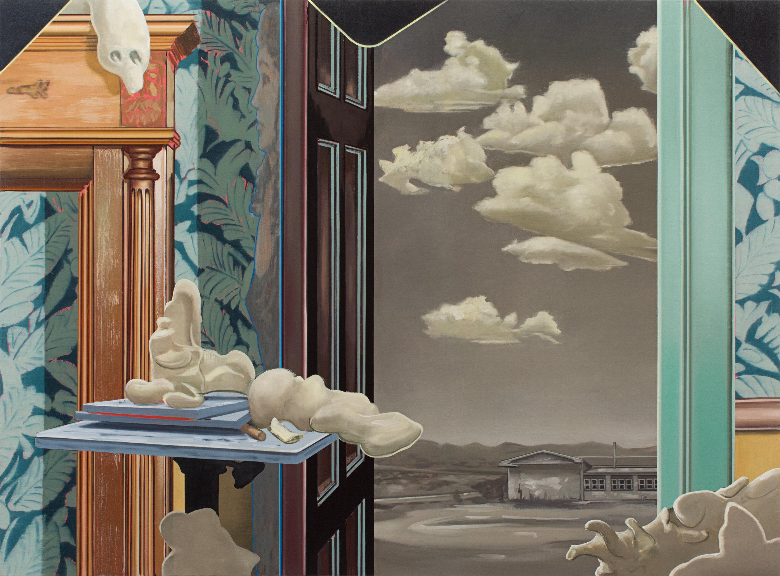 """Minor Apocrypha oil on canvas 48 x 65"""" 2016"""
