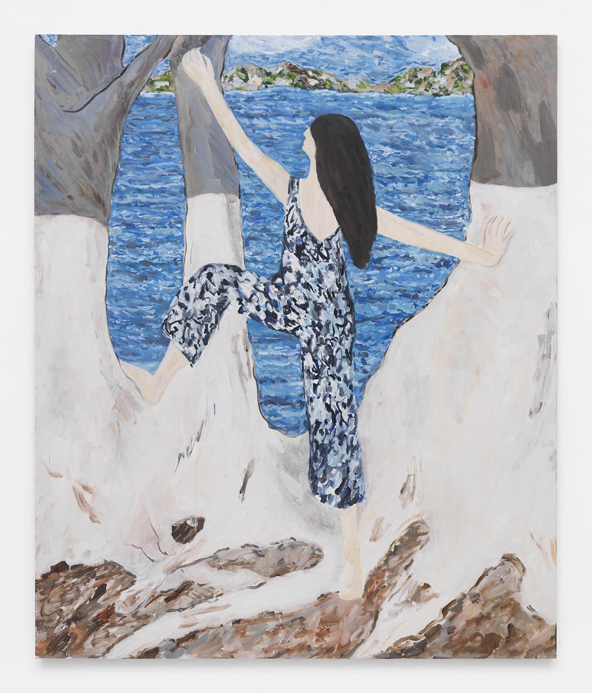Los Enigmas I oil on canvas 72 x 60 2015