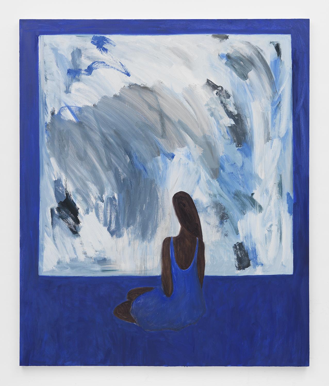 """Los Enigmas IV oil on canvas 72 x 60"""" 2015"""