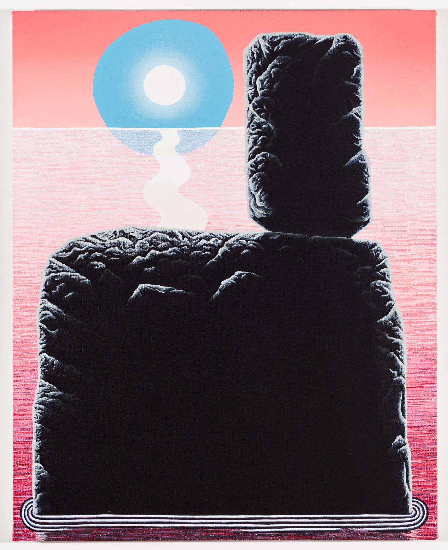 """The Good Philip acrylic on canvas 25 x 20"""" 2016"""