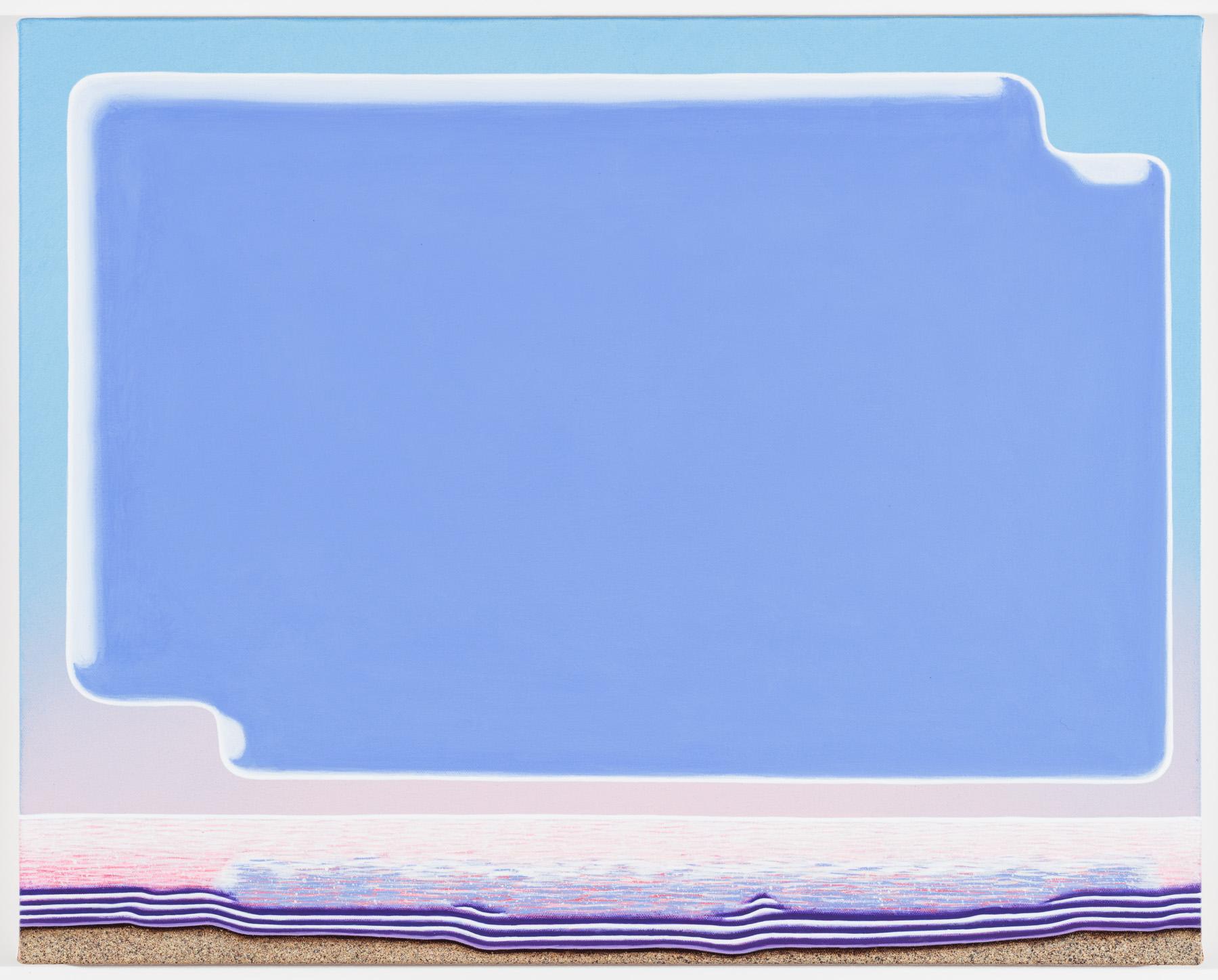 """The East acrylic on canvas 20 x 25"""" 2016"""