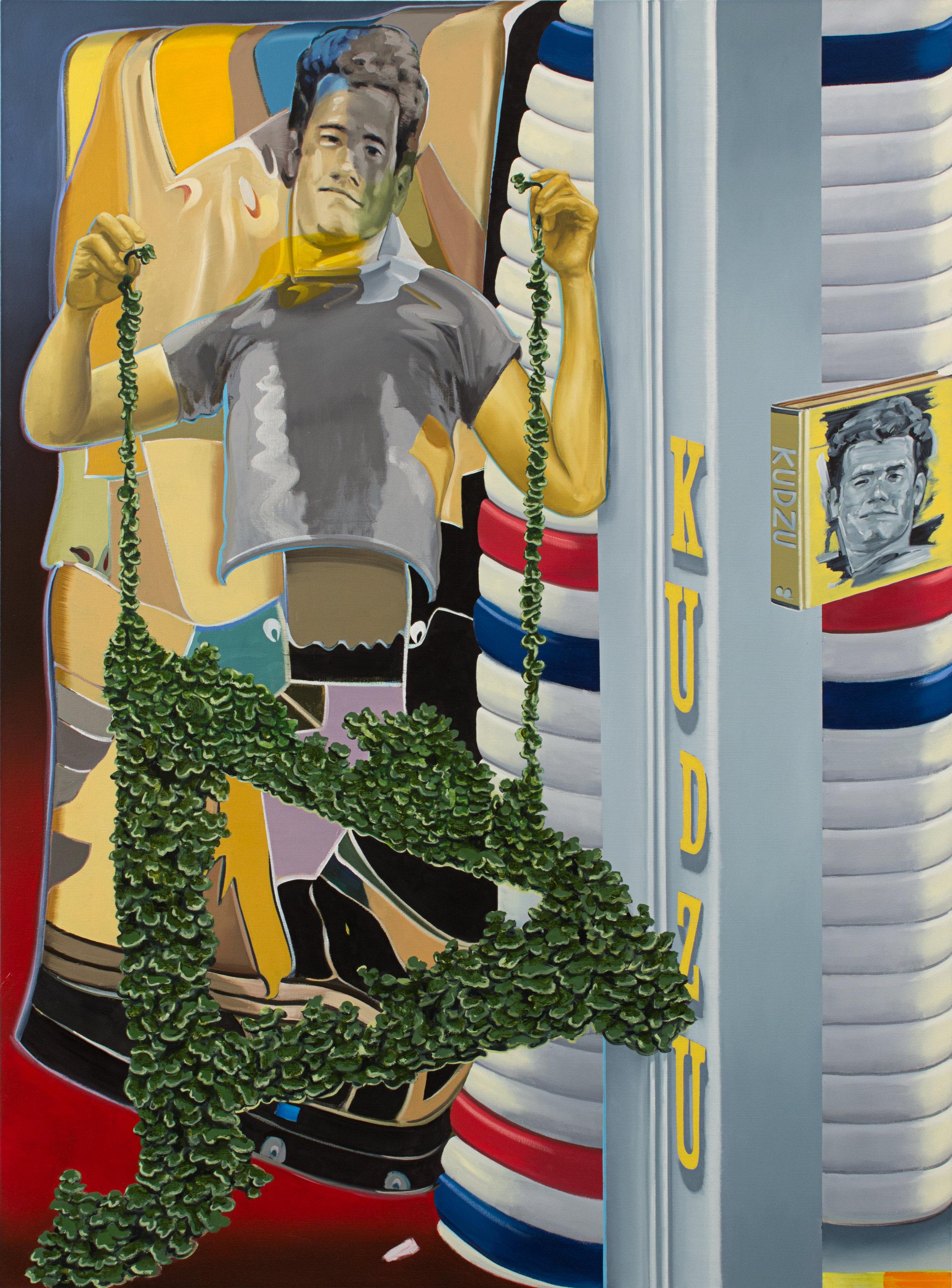 """KUDZU oil on canvas 65 x 48"""" 2016"""