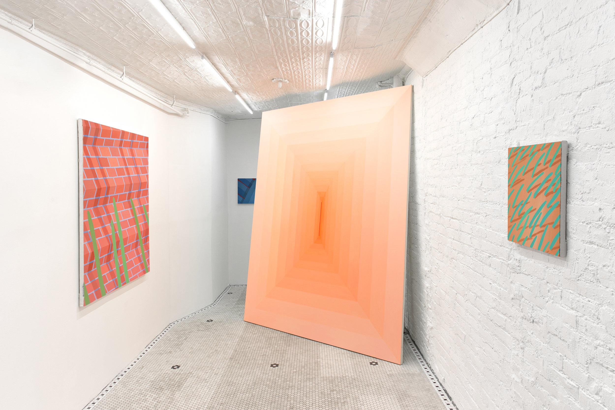 Installation of 'Dwell' at Miller Contemporary NYC 2016, Photo by Kirsten Kilponen. Courtesy MILLER, New York