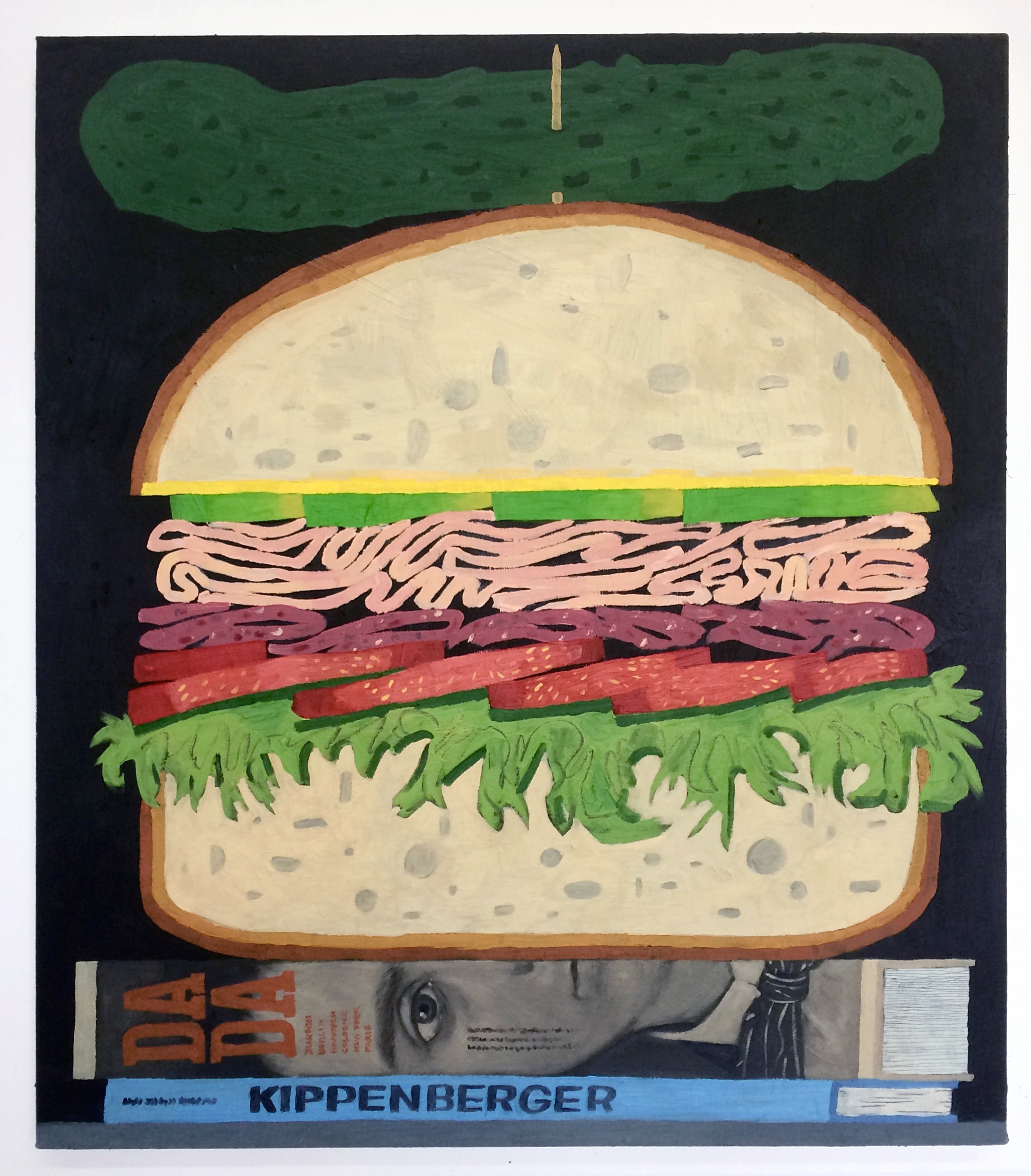 Turkey Club oil on canvas, 26 x 30 inches 2017