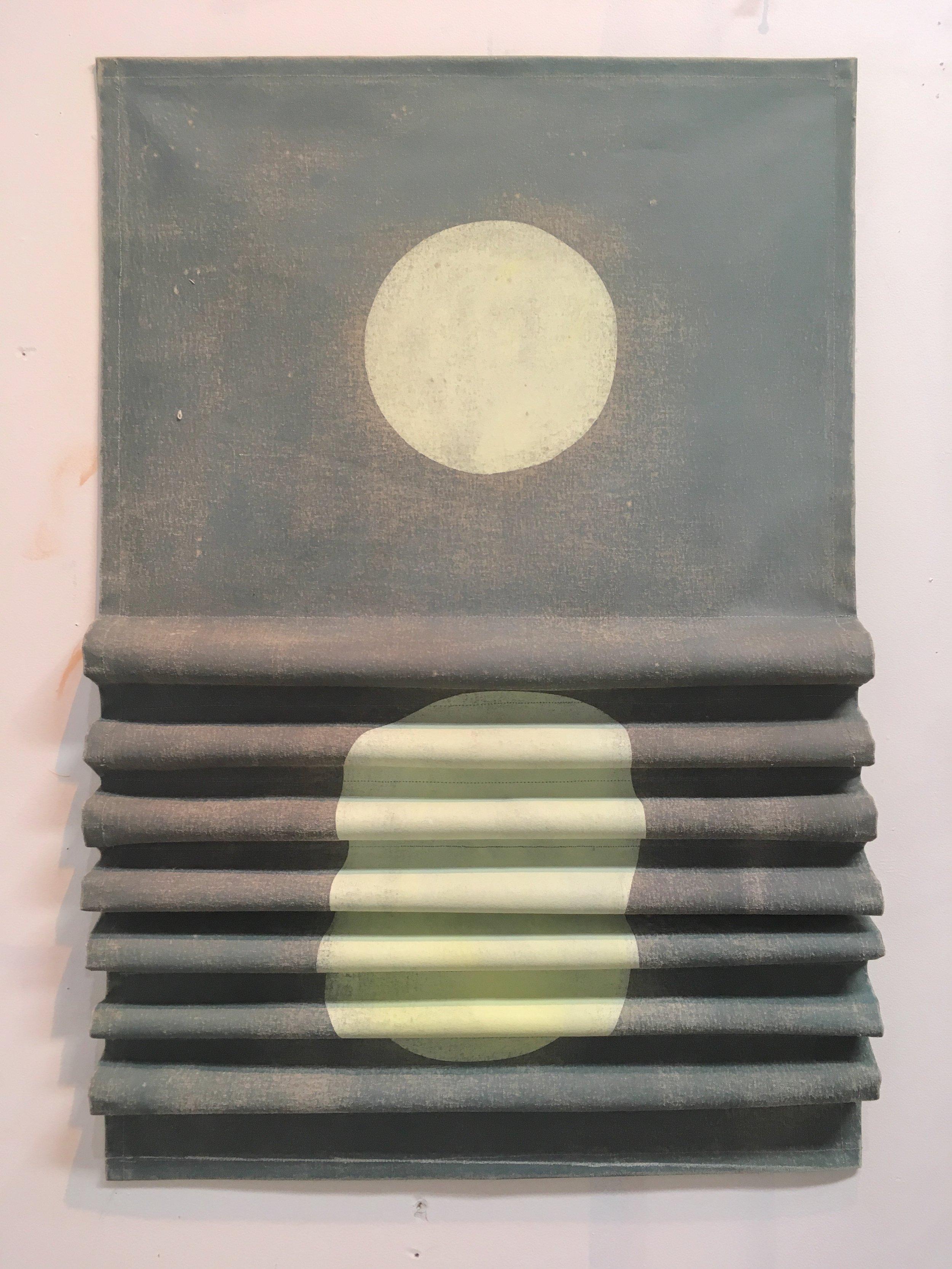 Moony acrylic on canvas 36 x 24  2016
