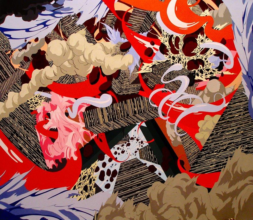 Acrylic on canvas 5 x 4 feet 2007 (old work)