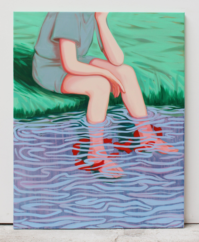 oo Oil on canvas 110 x 90 cm 2017
