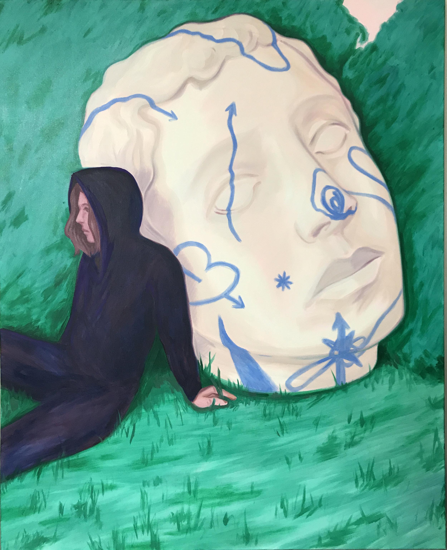 Pixo Oil on canvas 145 x 115 cm 2017