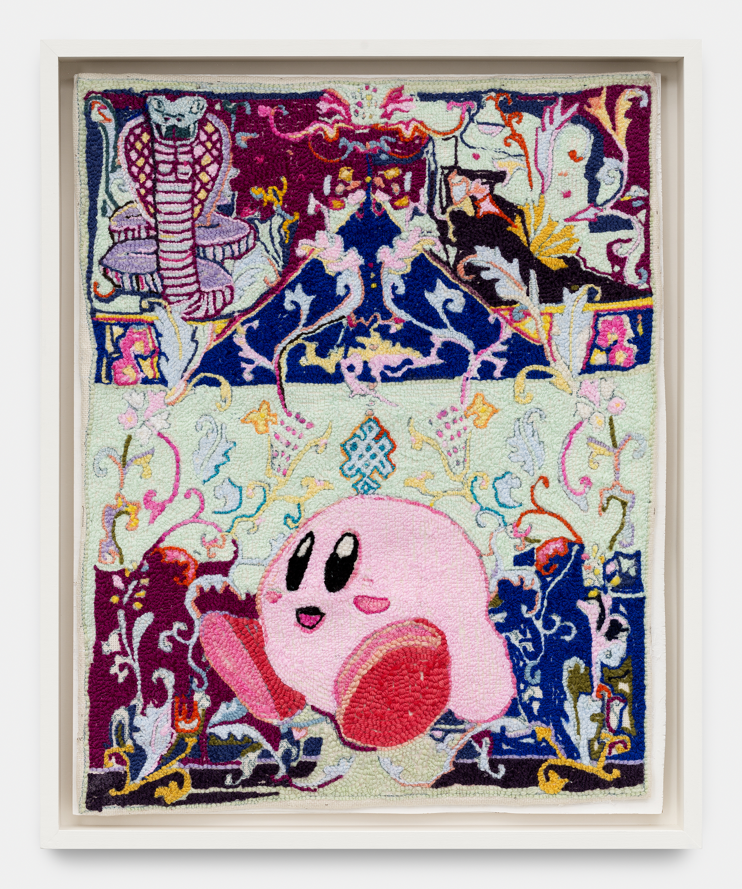 Kirby  gobelin, 66 x 52 cm 2017