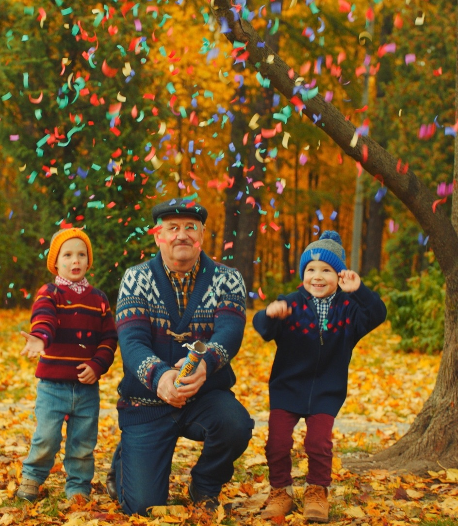 grandfather and kids in woods.jpg