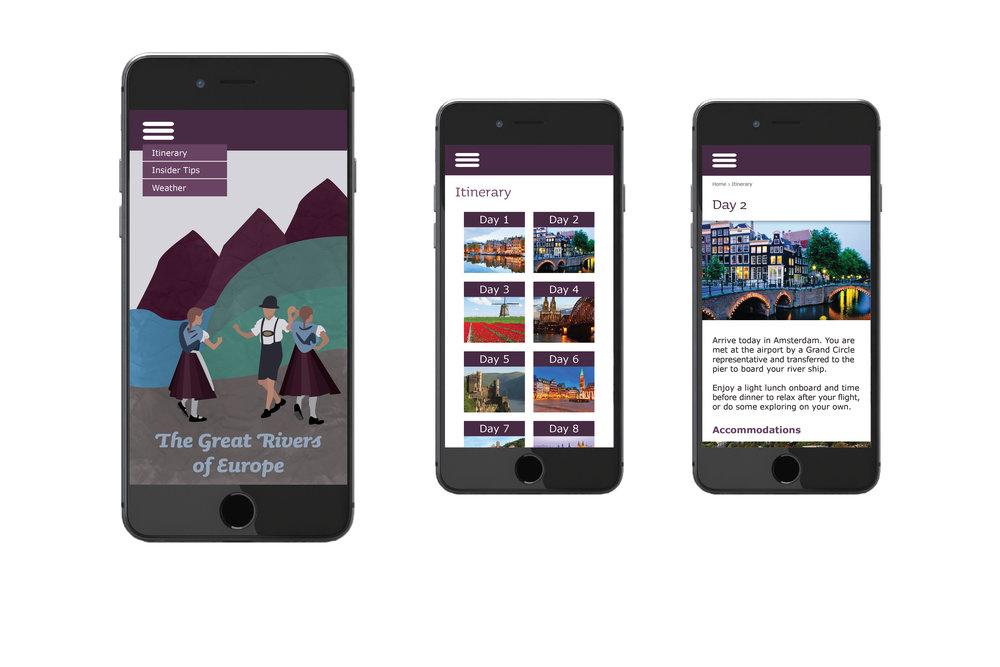 Mobile Application Screens