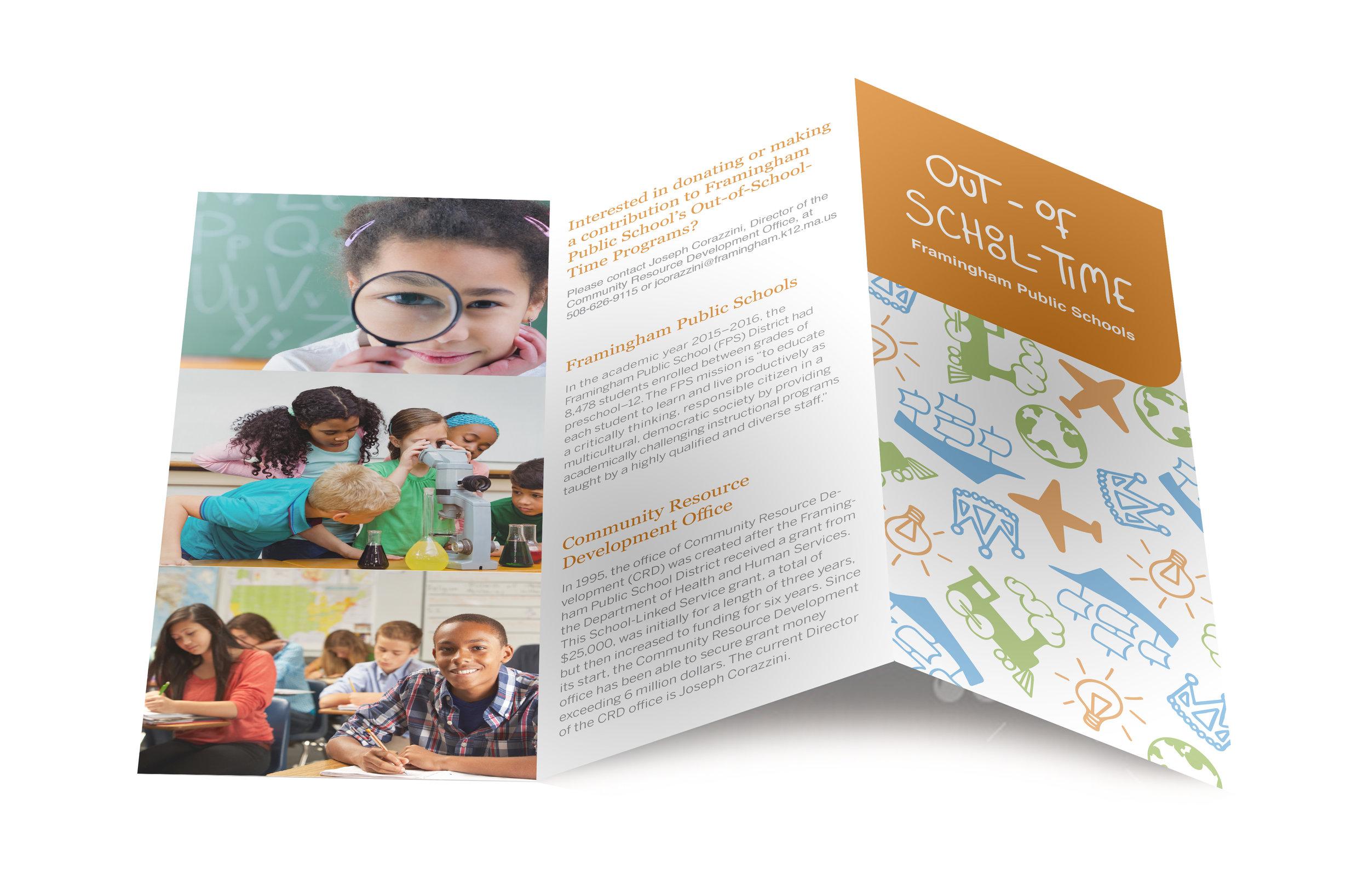 Tri-fold Brochure Outside