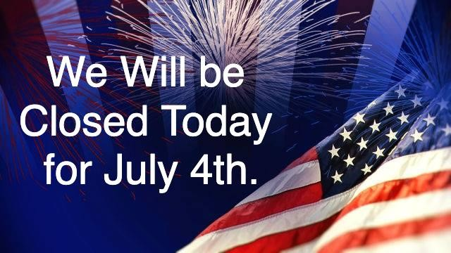 Thank you to all those who serve and have served to gain our independence. Stay safe and we will see you all for dinner tomorrow!