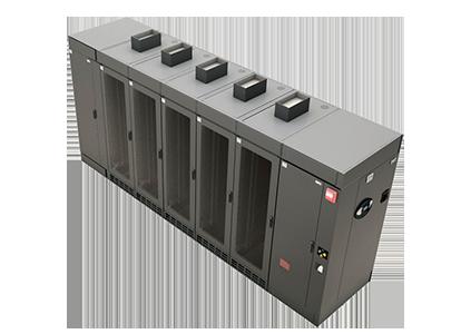 SMART SOLUTIONS    Garantice la confiabilidad y optimice la eficiencia en sus centros de datos pequeños o medianos con productos de refrigeración de filas.