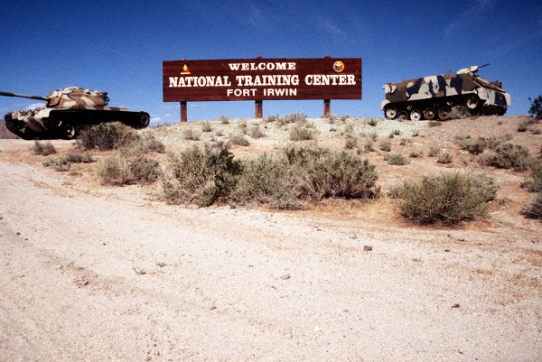 The Army's National Training Center…performing well here can lead to success on the battlefield