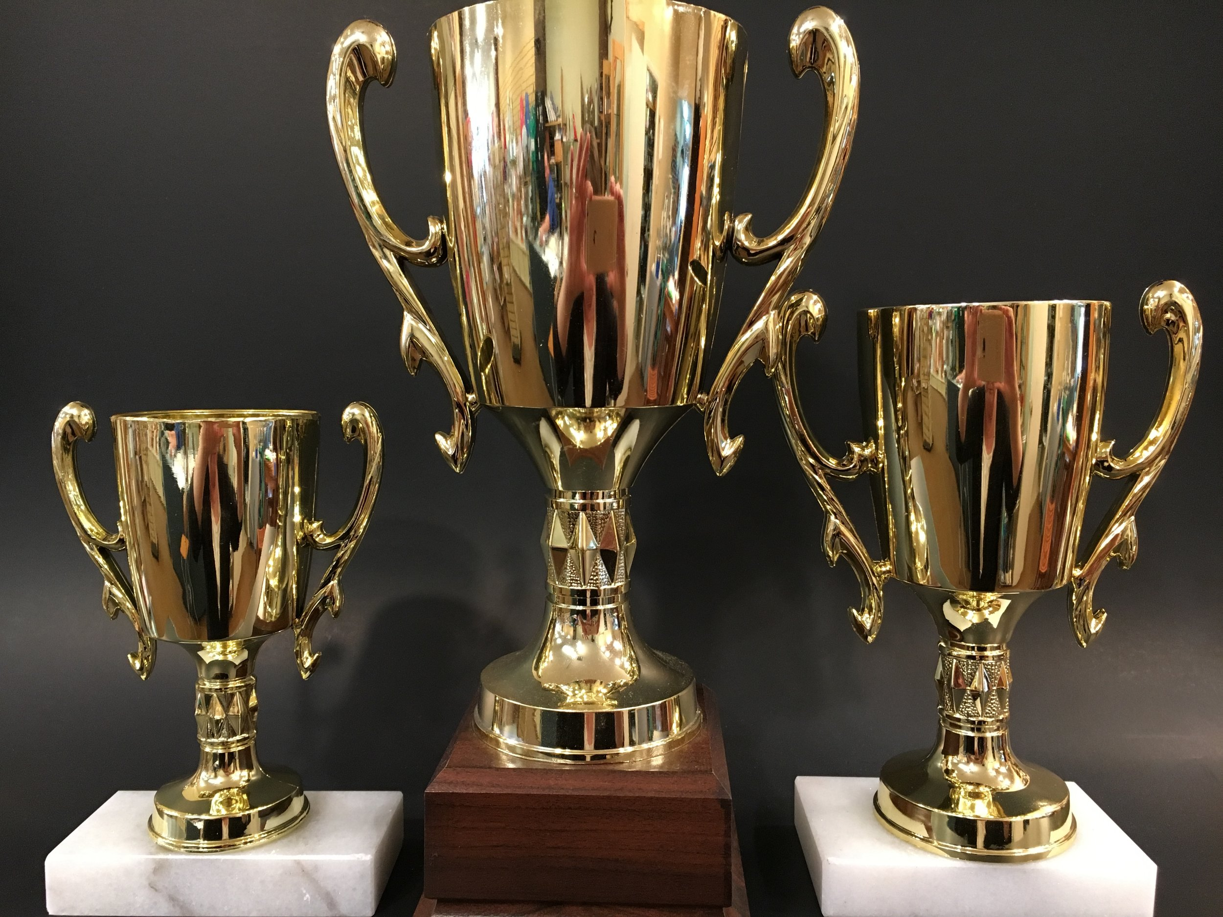 """6"""", 7½"""" and 11"""" X-Large Loving Cup"""