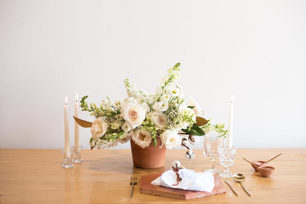 Florecita Flowers - Cotton Color Palette
