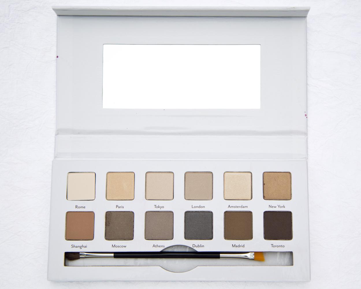 Cargo Cosmetics Around the World Eyeshadow Palette