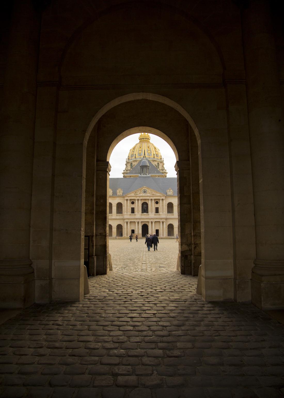 Walking through Les Invalides