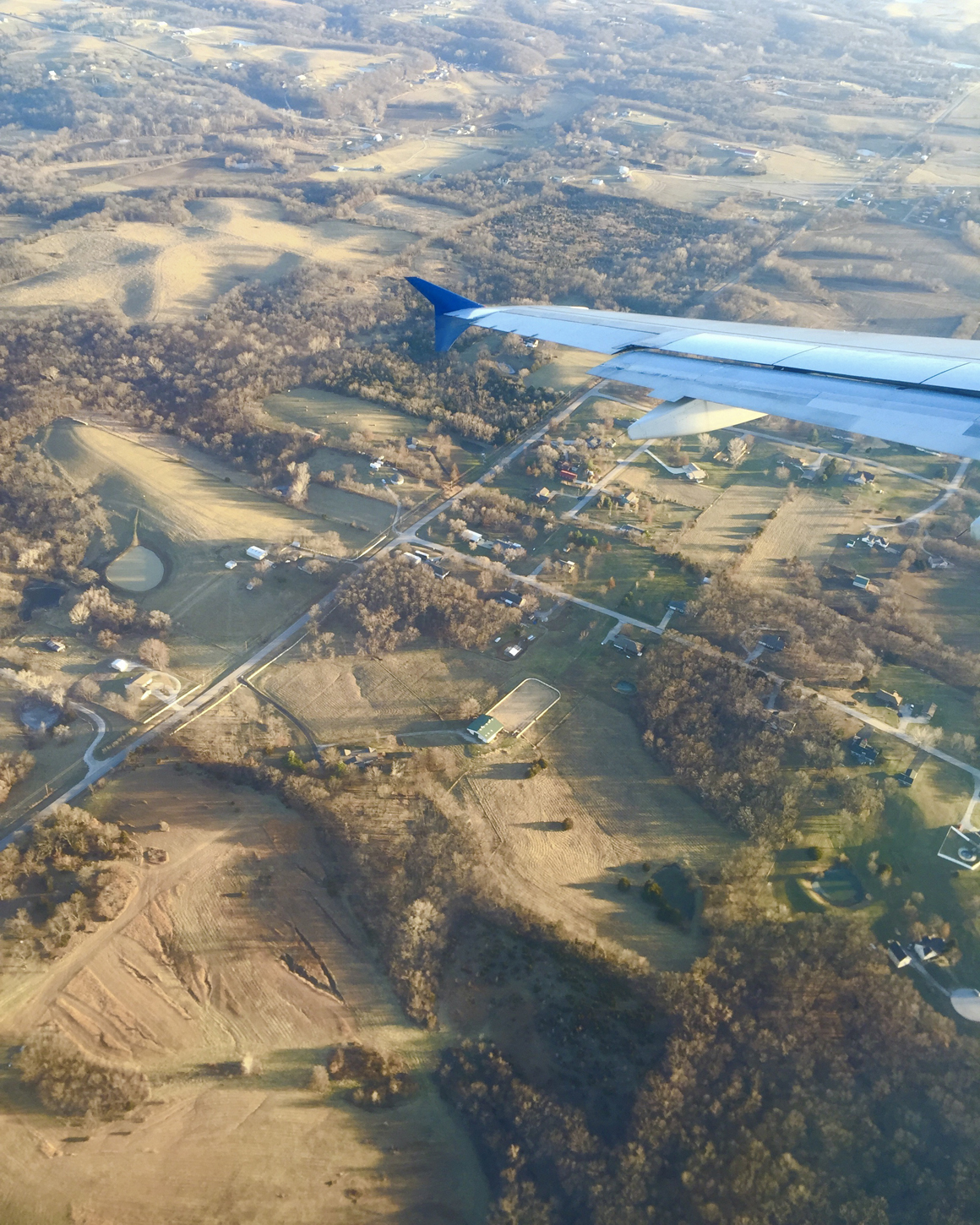 Somewhere over the midwest