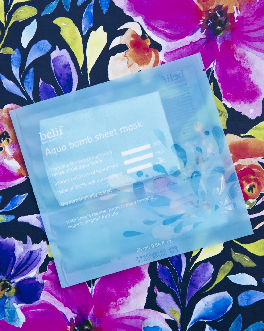 Belif Aqua Bomb Sheet Mask $8
