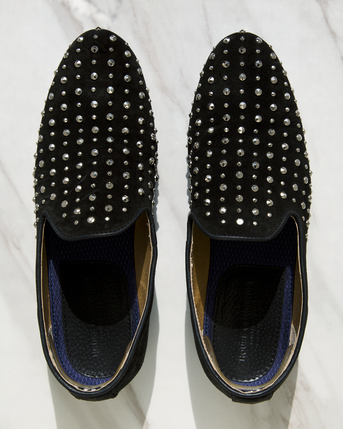 House of Hounds Emperor Studded Loafers