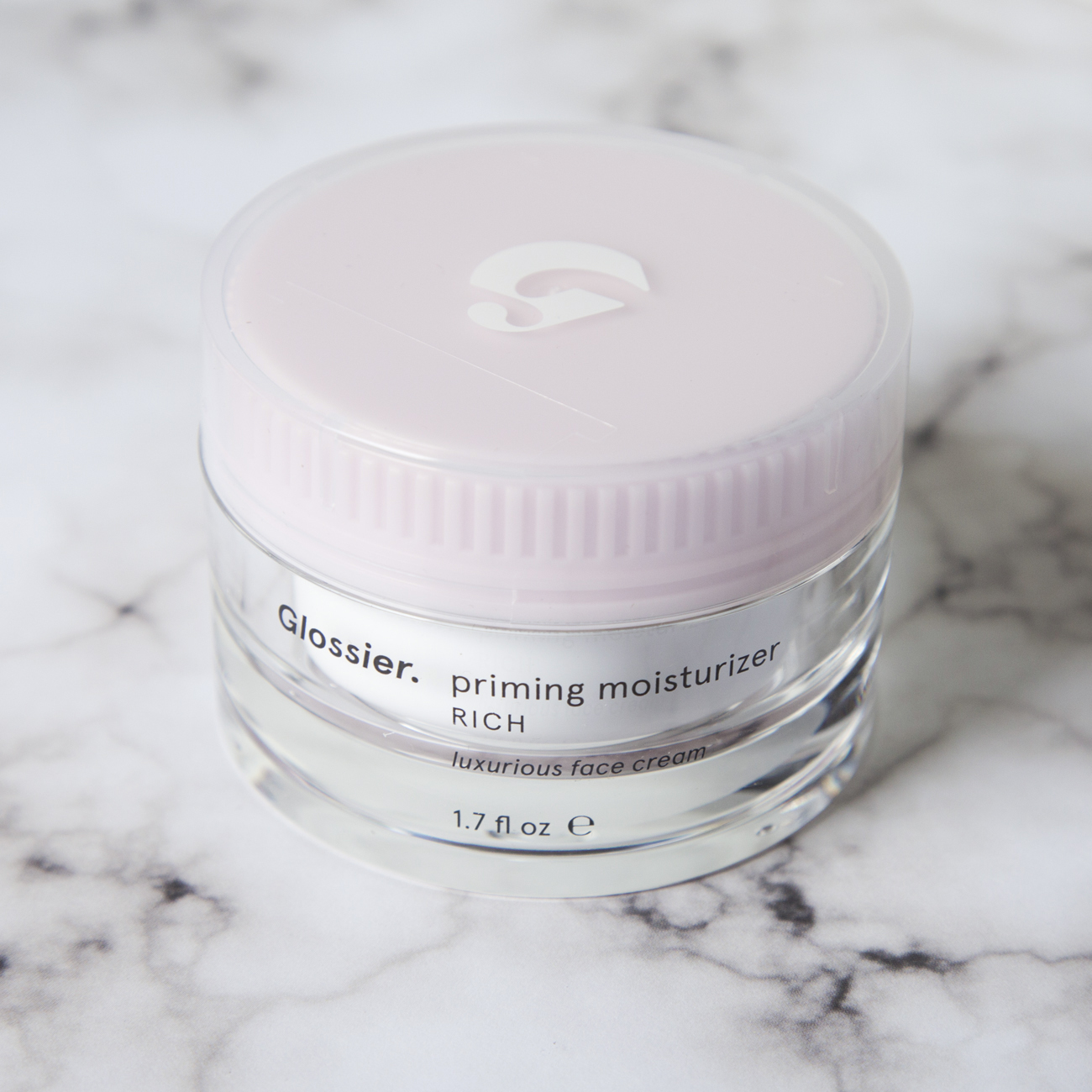 Glossier Priming Moisturizer Rich   This product has a bit of a cult following and now that I've tried it I can definitely see why. It very rich, which is fantastic for my mega dry skin, but doesn't feel heavy at all.My makeup goes on over this so much more smoothly than it did with the   Clarins Multi-Active Day Cream  which would sometimes bunch up and crumble if I applied too much. I'm not usually a repeat offender with many beauty products, if you can't tell I love to try out different things, but this might be my new go-to daytime moisturizer because of how well it is working for me thus far. I used a 20% off welcome code on this and got it for $28 but it goes for $35 which is a lot cheaper than a lot of the other moisturizers I've tried out so it's a win-win.
