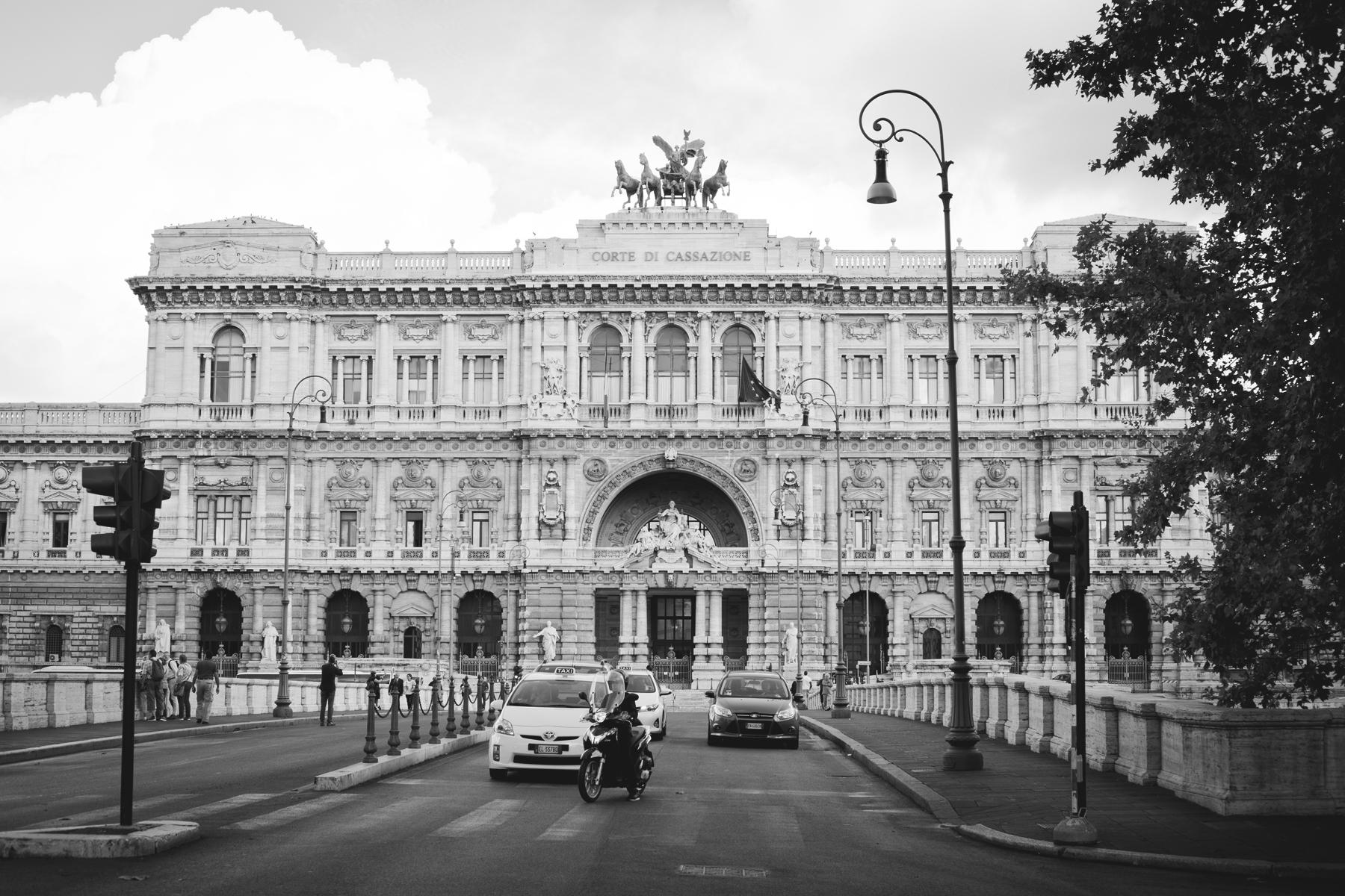 Rome's Supreme Court building