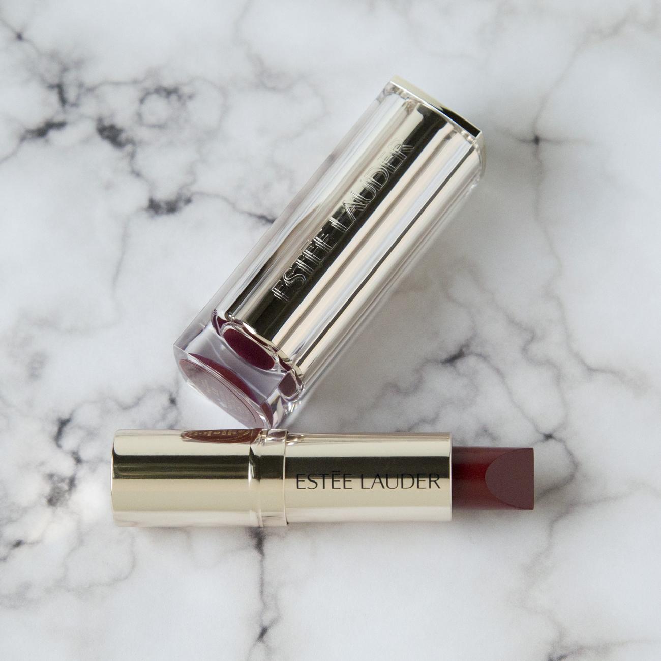 Estée Lauder Pure Color Love Lipstick in Rose Xcess