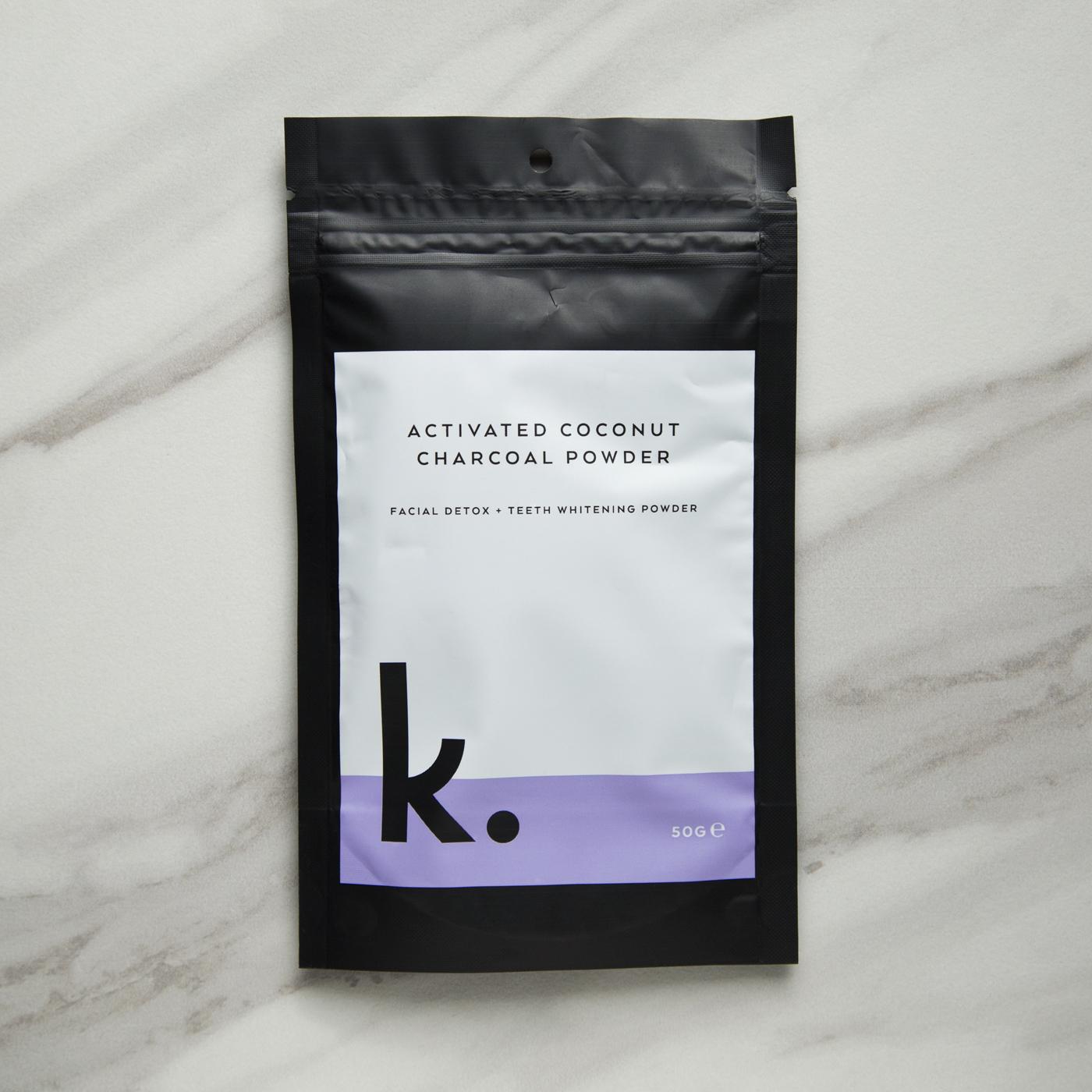 Keeko Activated Coconut Charcoal Powder