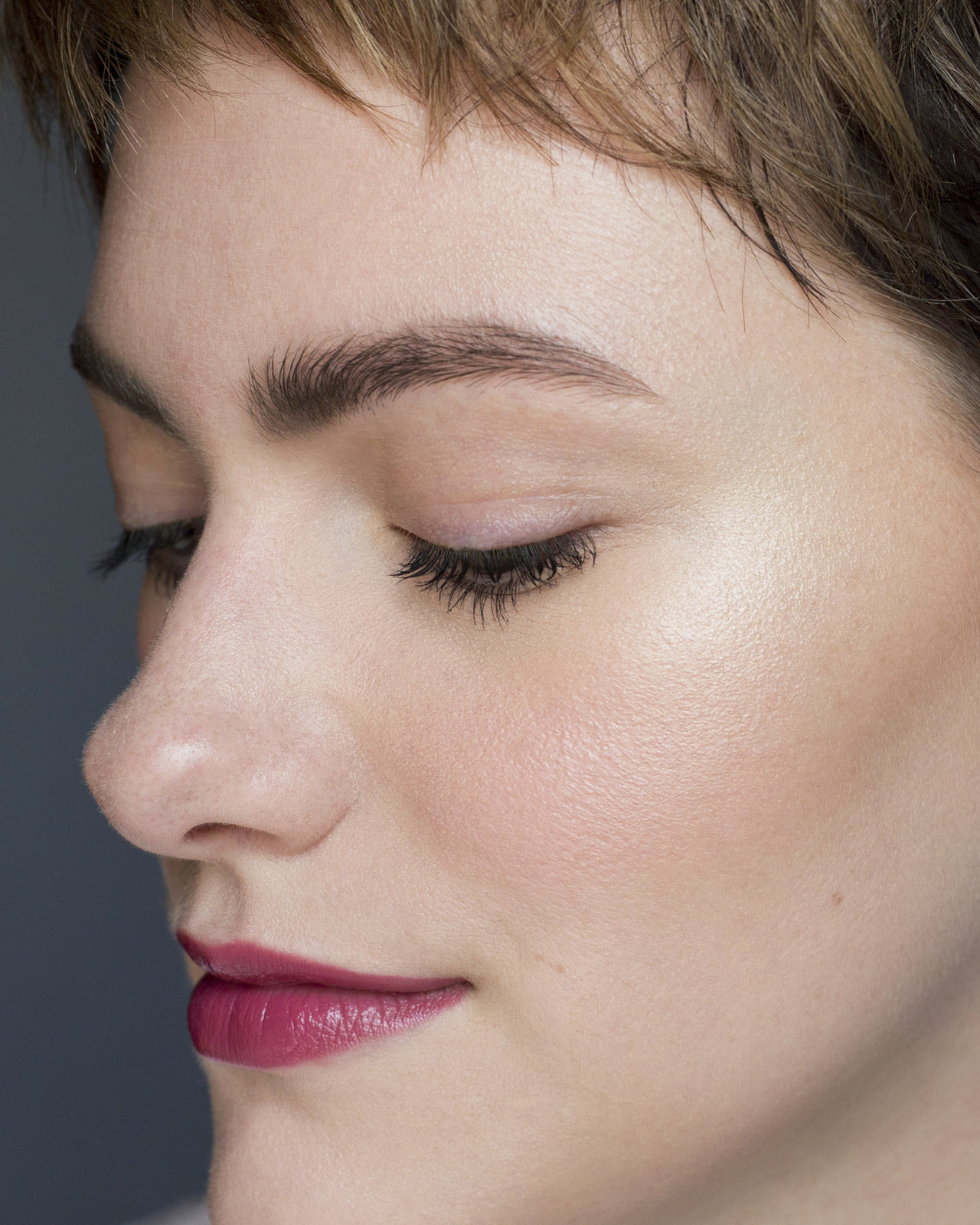 Bite Beauty Amuse Bouche Liquified Lipstick in Mauvember Close Up