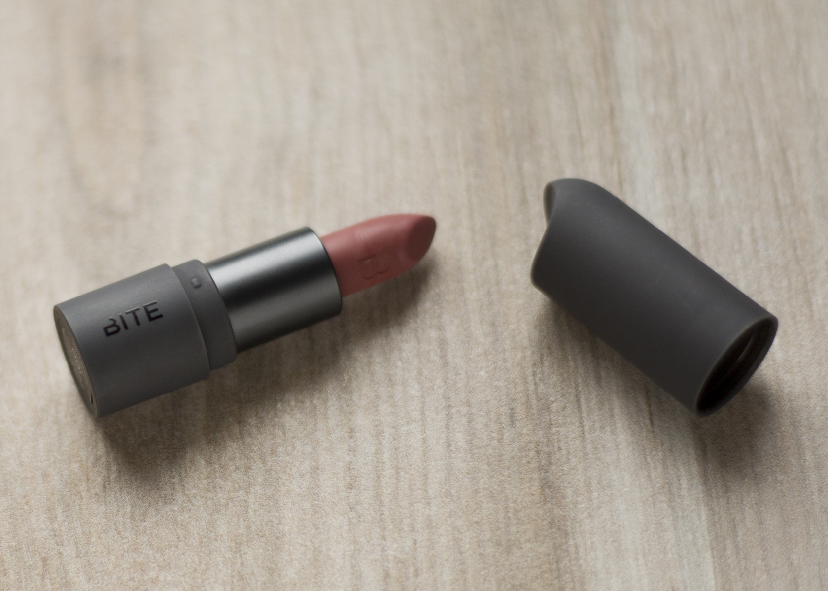 "Amuse Bouche Lipstick in Chai   ""Mauve Brown"""