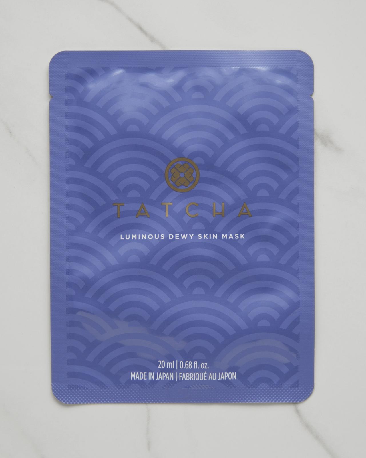 Tatcha Luminous Dewy Skin Sheet Mask $12