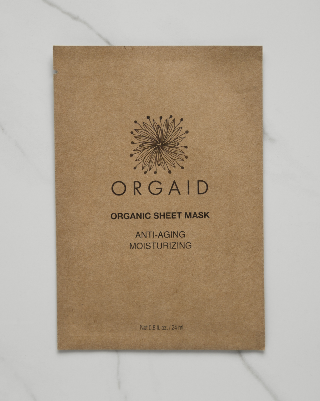 Orgaid Anti-Aging & Moisturizing Organic Sheet Mask $6