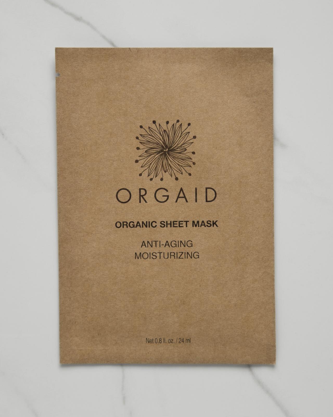 Orgaid Anti-Aging & Moisturizing Organic Sheet Mask $6